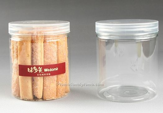 Hot Sale Plastic Cookie jar, Storage Jar,Plastic Bottle