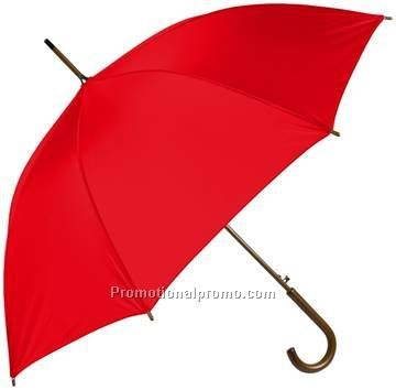 Wholesale manual open wooden chromatic Straight Umbrella