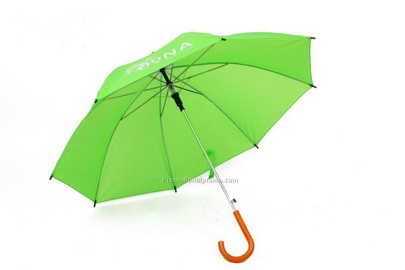 Cheap advertising straight promotional umbrellas with logo