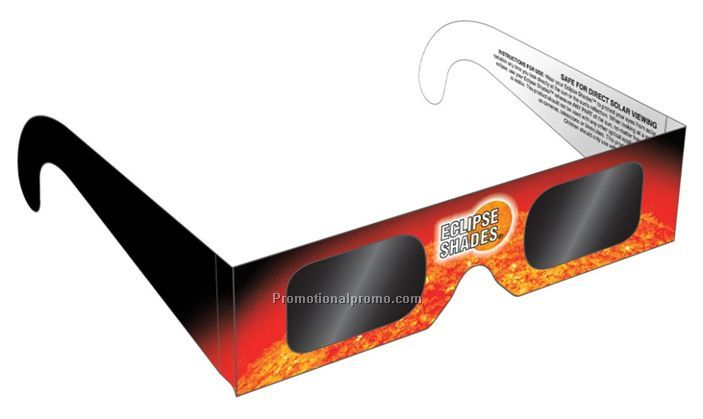 Paper card solar sunglasses