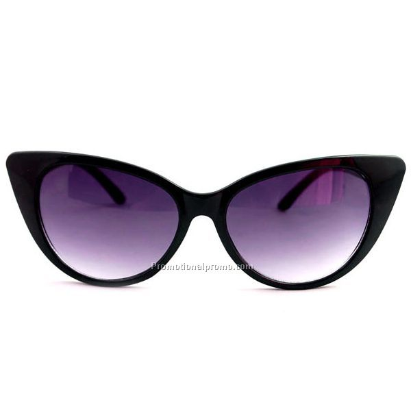 Customized color Printed UV Protected cat 3 uv400 sunglasses for ladies