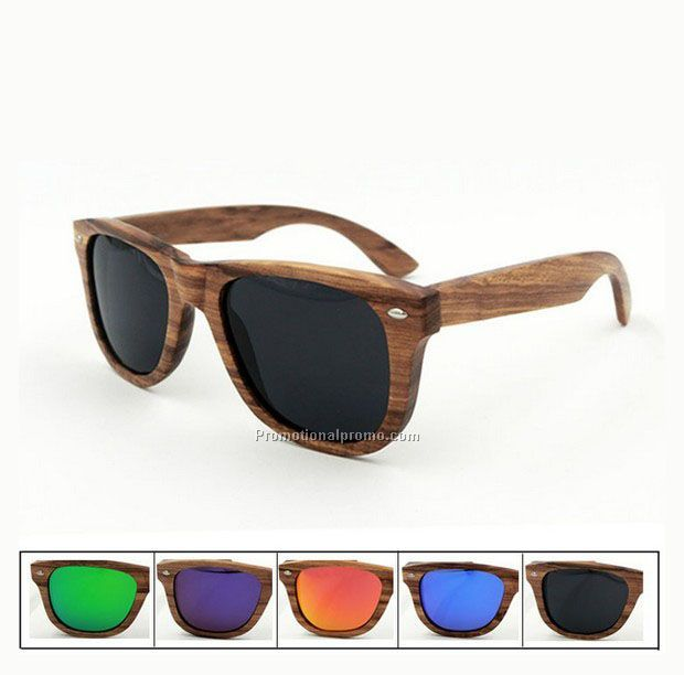 Hot Sale OEM Logo Wooden Sunglasses