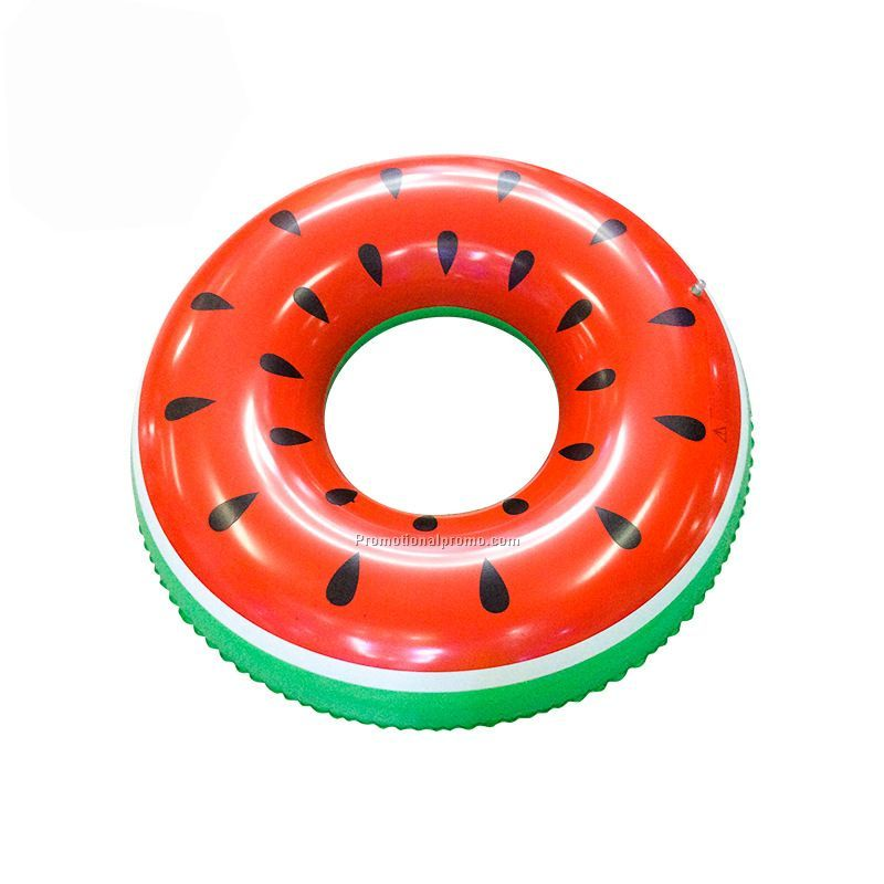 Watermelon design PVC Adult inflatable swimming ring