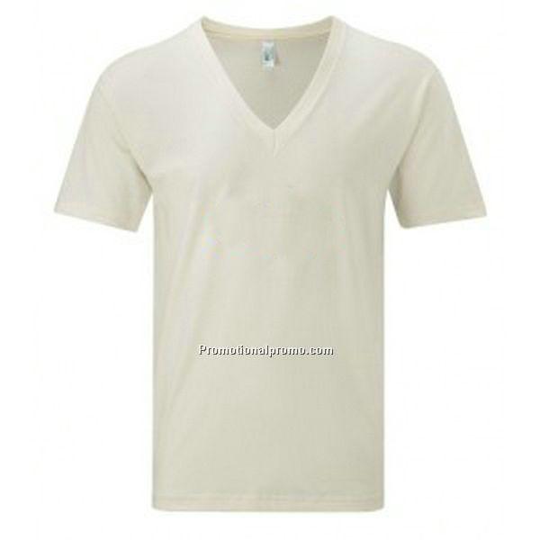Customized V Neck Cotton T Shirts China Wholesale