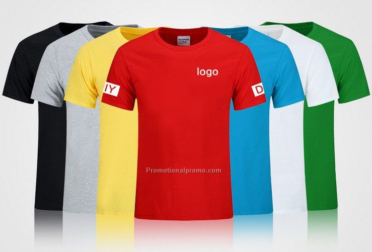 Custom size T shirt logo full-size printing, advertising t-shirt OEM