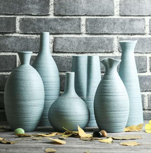 Ceramic home decoration vase set