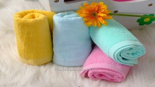 100% cotton colorful Sport Towel