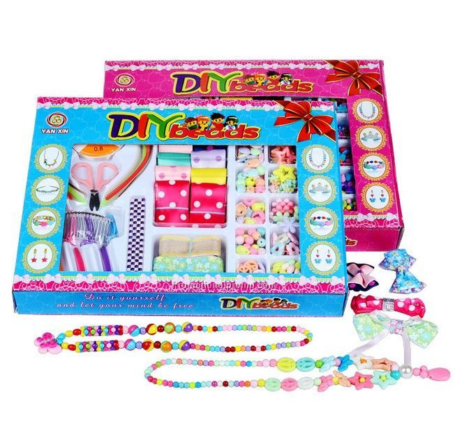 DIY beads toy set