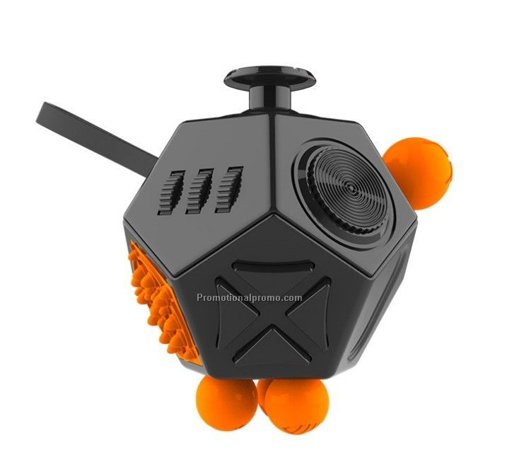 Wholesale 12 sides fidget cube release stress toy