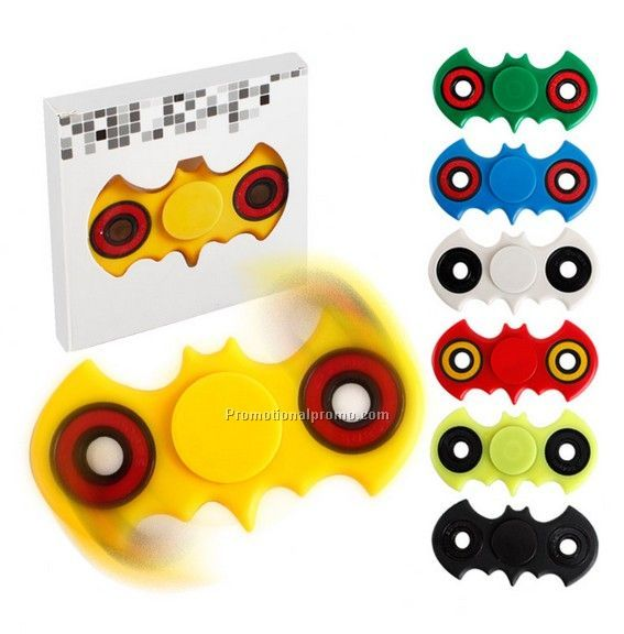 Single hand anti stress toy fidget spinner