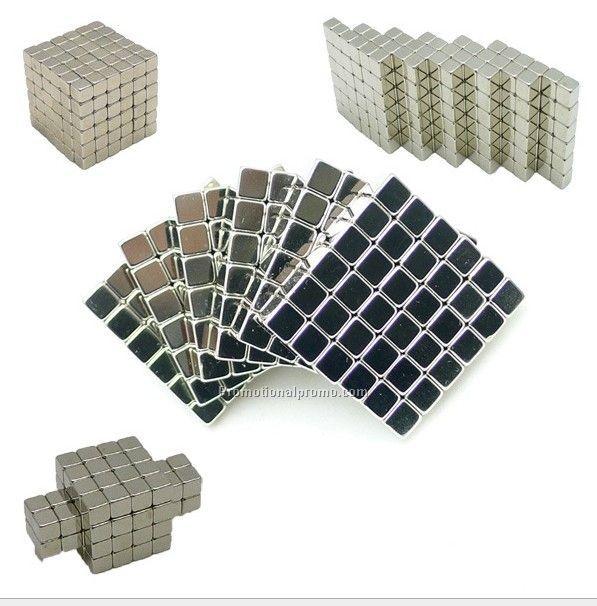 216pcs Neodymium magnetic cube block, Fidget block toy for