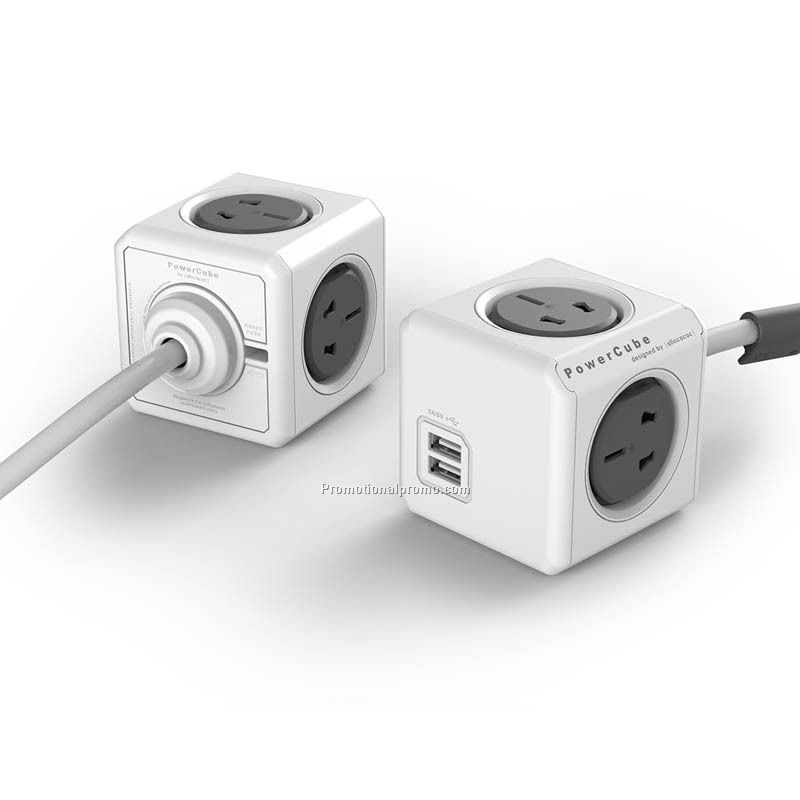 Multi Device Power Cube - 2 Pack Socket