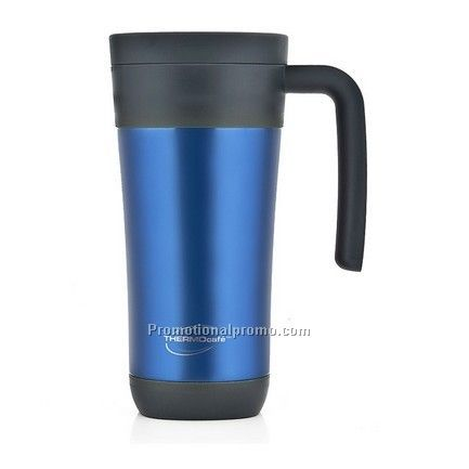 Stainless Steel Travel Tumbler with plastic liner- 16 oz