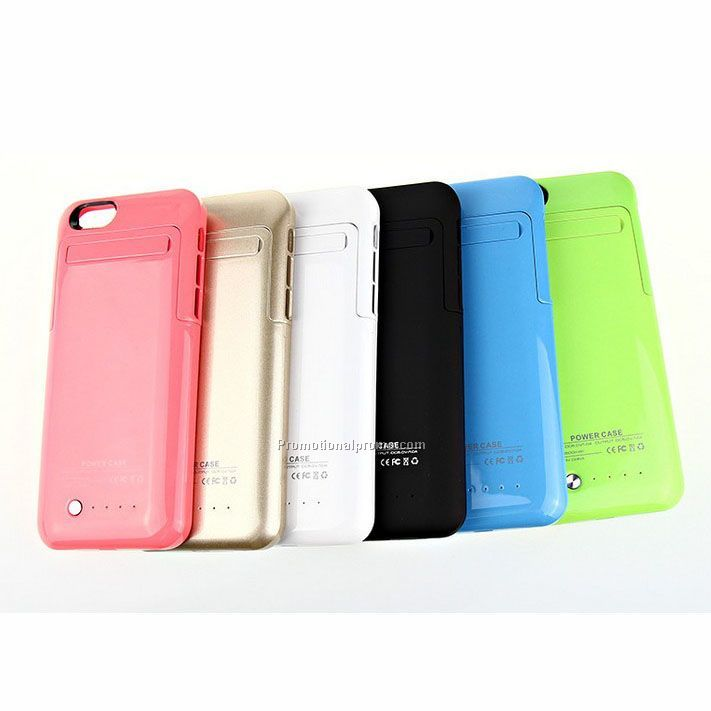 Ultra thin back battery case cover for iphone 6, power case
