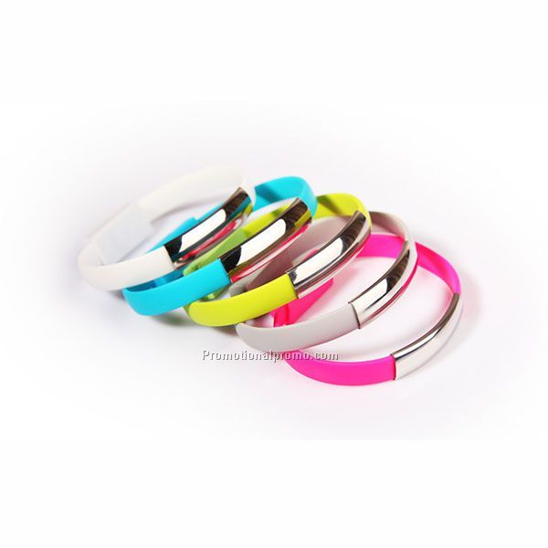 Silicone Bracelet Charge Line For ios and android