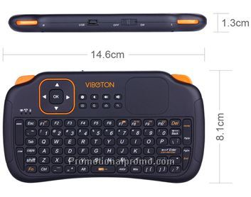 2.4GHz Mini Handheld Wireless Keyboard