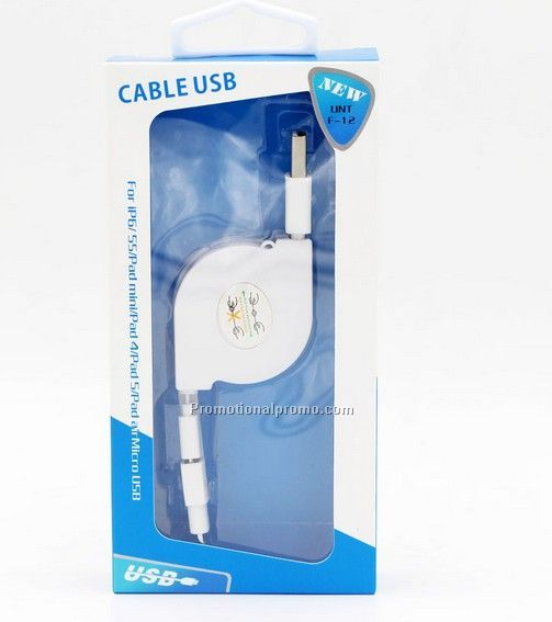 Micro USB cable for iphone samsung ipad, new arrival