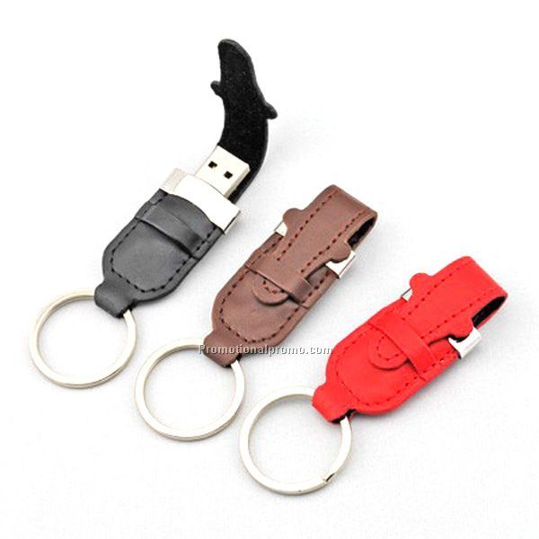 Promotional keychain USB flash diver