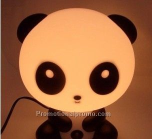 Lovely Bear Lamp with Clock