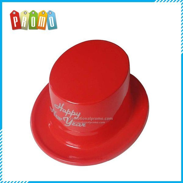 Printed Plastic Top Hats