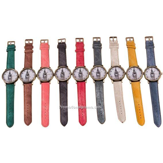 Canvas Strap Wrist Watch