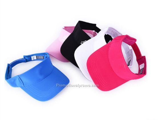 OEM Fashion High Quality Sports Custom Cotton Sun Visor