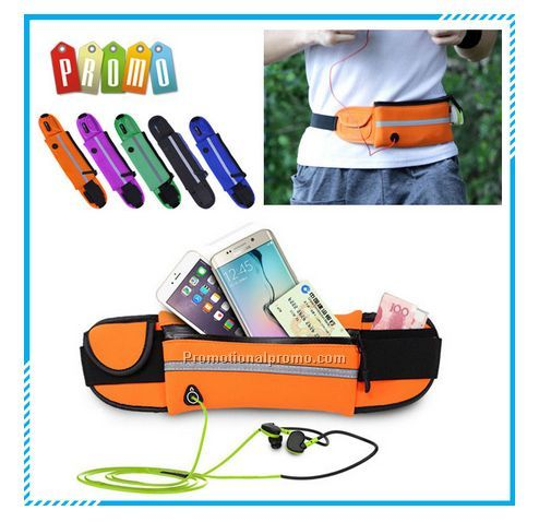 Wholesale mini waterproof running waist bag, multifunctional belt mobile phone bag