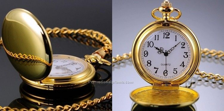 OEM quartz smooth pocket watch