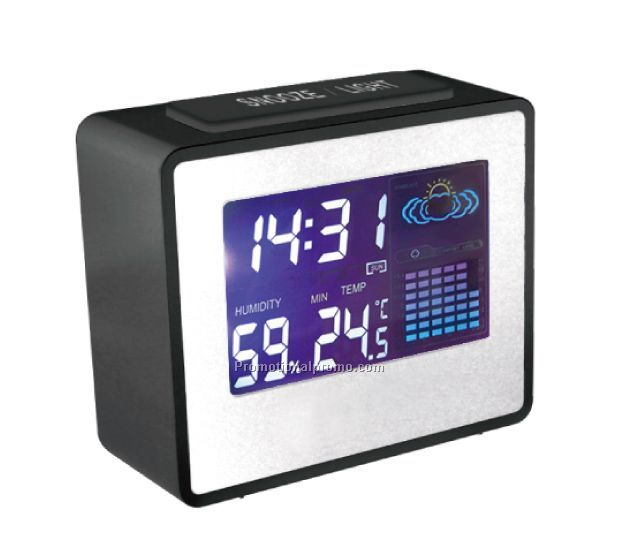 Solstice Weather Station with Color Display