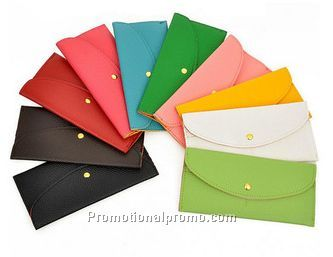 Wholesale Multicolor PU Leather Women Wallets, Lady Purse Card Bag