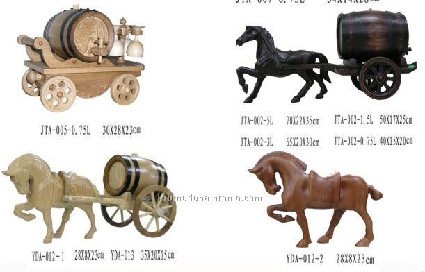 Wooden Bucket Horse China Wholesale| #WBH20120829