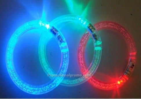 Flashing LED 7 Color Wristband