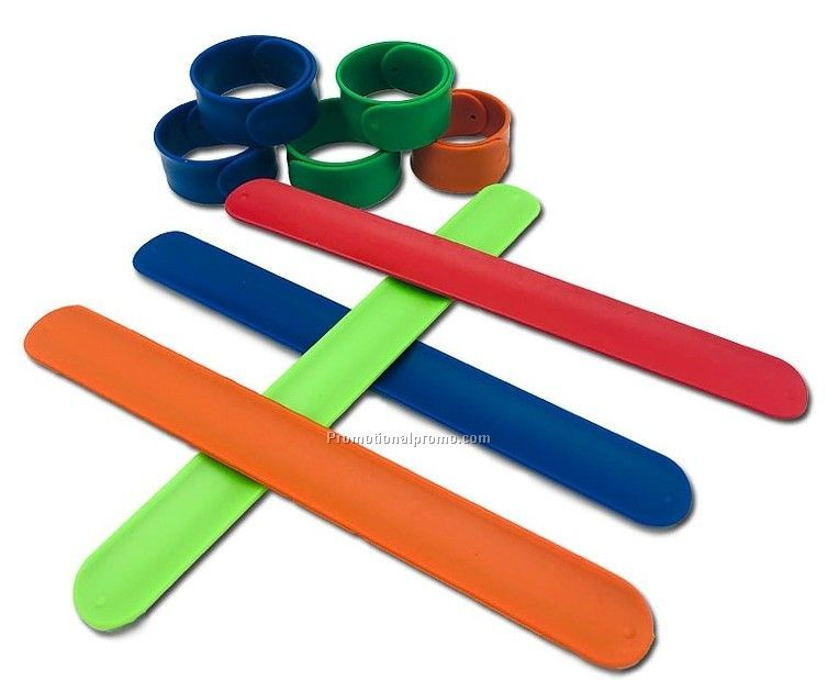 Silicone Slap Bands for kids