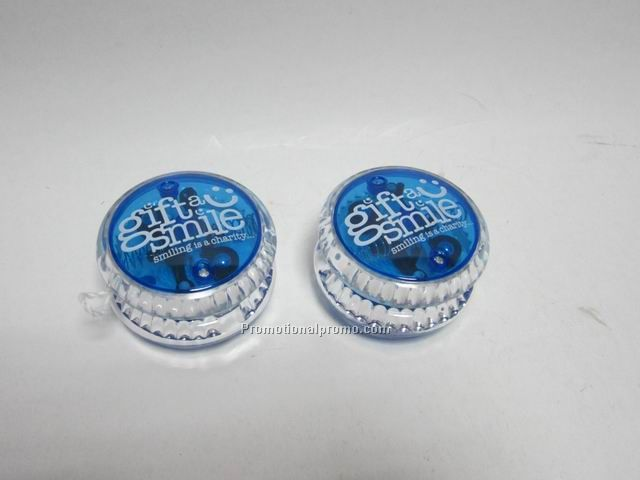promotional YOYO with flashing light