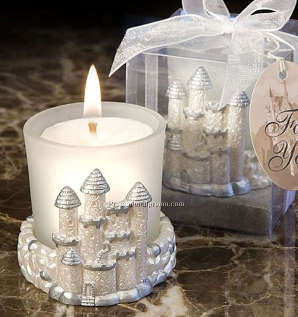 Castle Candle Holder