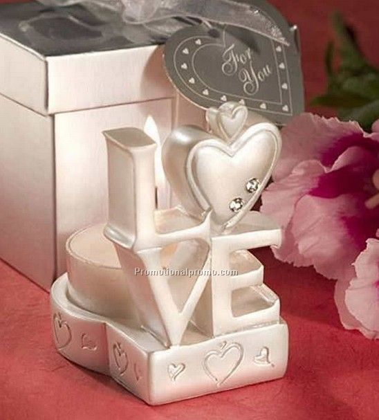 Love Shape Candle Holder