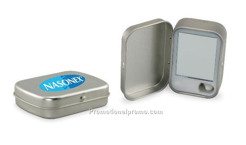 Micro Mints in Hinged Tin with Mirror