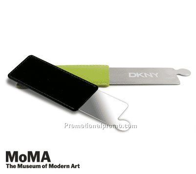 MoMA Stainless Steel Mirror RECTANGLE, BLACK