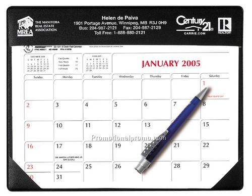 Small Desk Pad Calendar   Castilian