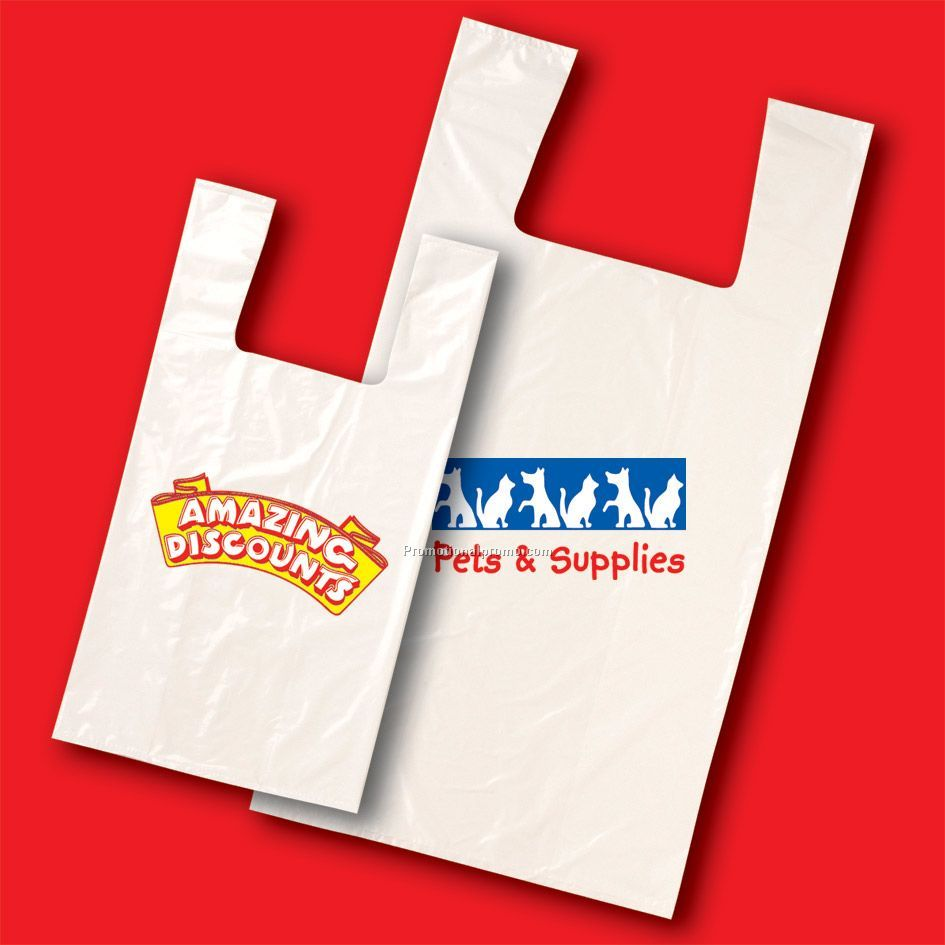 T Shirt Style Grocery Bags China Wholesale Pbt123831