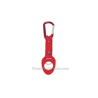 6mm CARABINER WITH BOTTLE HOLDER-Pad-Print