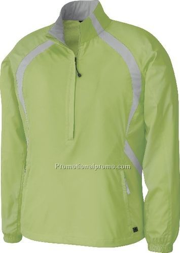NEW LADIES37408RECYCLED POLYESTER DOBBY LIGHTWEIGHT WINDSHIRT