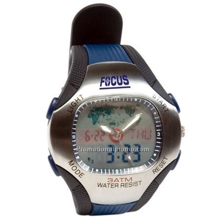 WORLD ANA-DIGITAL WATCH Unisex