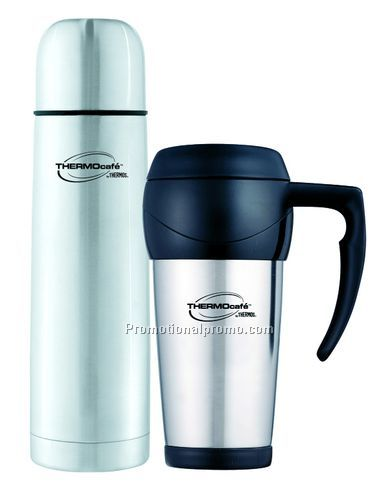 Travel Mug and Travel Bottle Combo