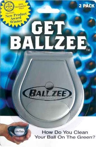 BALLZEE - 2 PACK IN BLISTER CARD