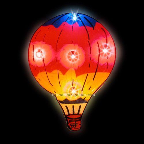 LED Light-Up Magnet - Hot Air Balloon China Wholesale