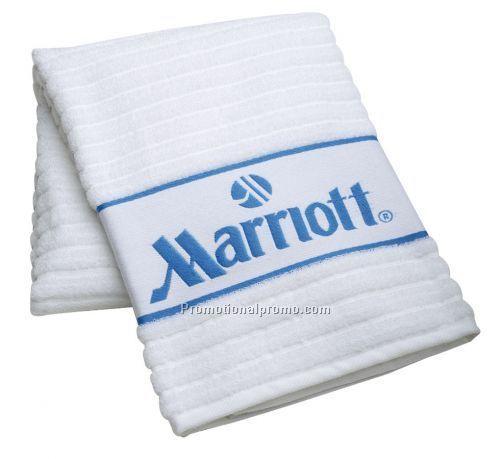 Ribbed Hand Towel W/ Border China Wholesale