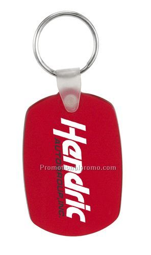 Soft Oval Key Tag