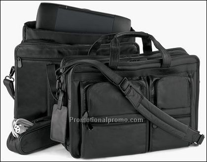 Briefcase with Laptop Accessories