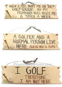 Golf Signs